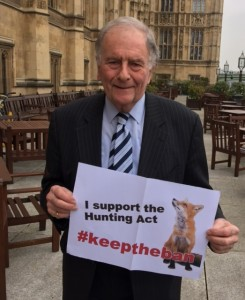 ROGER GALE CONSERVATIVES against fox hunting